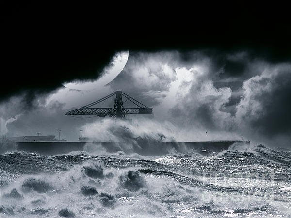 The Dark Photograph - The Dark Storm by Boon Mee