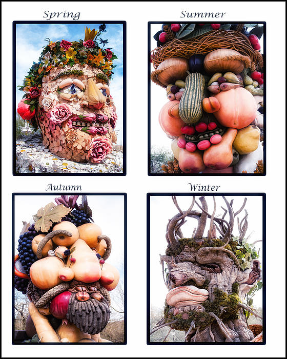 Fruit Photograph - The Four Seasons by Diane Wood