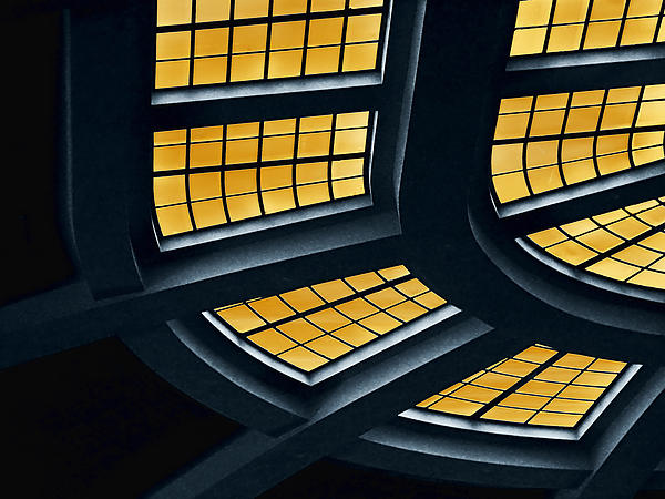 Architecture Photograph - The Glass Ceiling by Wendy J St Christopher