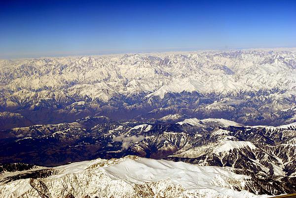 Himalayas Photograph - The Great Himalayas- Viators Agonism by Vijinder Singh
