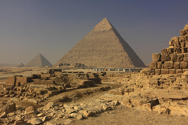 Africa Photograph - The Great Pyramids Of Giza Egypt  by Ivan Pendjakov