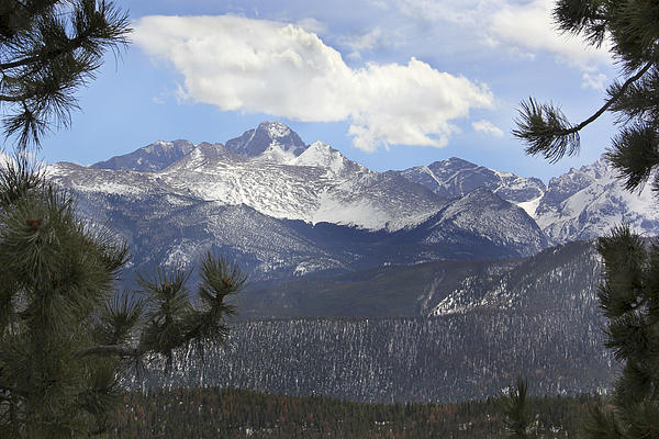 Rockies Photograph - The Rocky Mountains - Colorado by Mike McGlothlen
