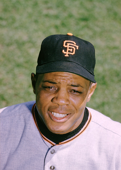 Marvin Newman Photograph - The Great Willie Mays by Retro Images Archive