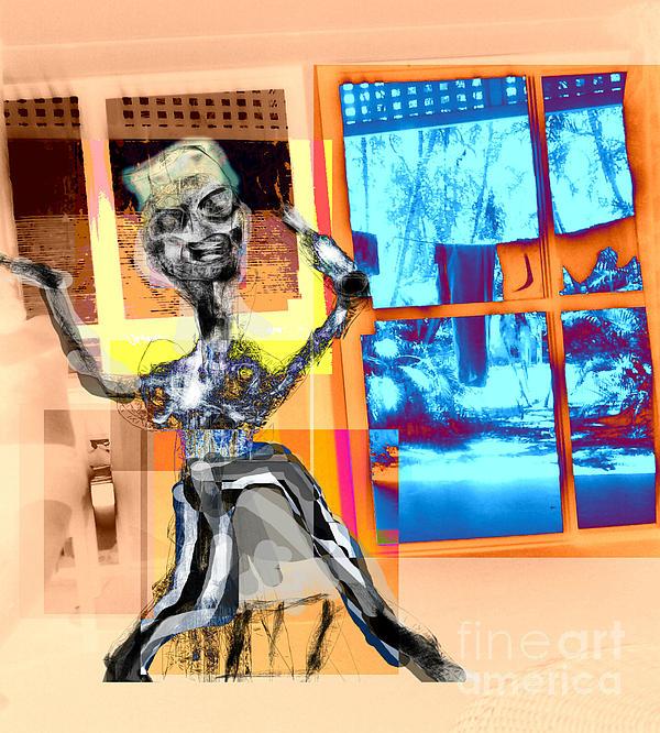 The Happy Drunk Digital Art by Rc Rcd