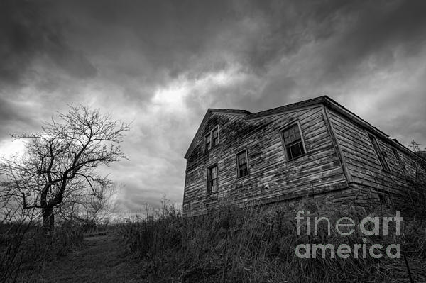 Landscape Photograph - The Haunted by Michael Ver Sprill