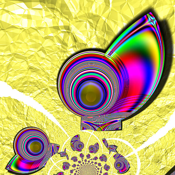 Fractal Digital Art - The Incompetent Nanny by Wendy J St Christopher