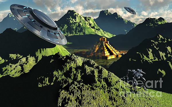Artwork Digital Art - The Legendary South American Golden by Mark Stevenson
