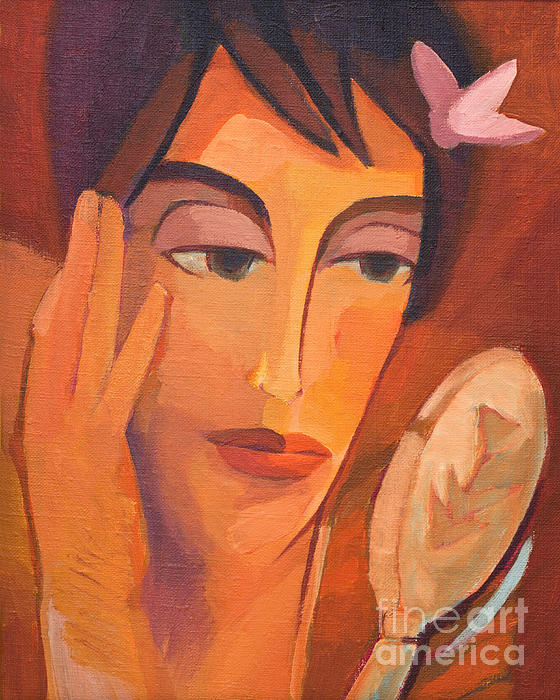 The Look Painting - The Look by Lutz Baar