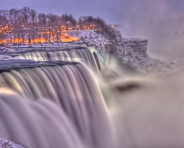 The Mighty Niagara Photograph - The Mighty Niagara by Jim Lepard