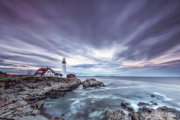 Horizontal Photograph - The Motion Of Light by Jon Glaser