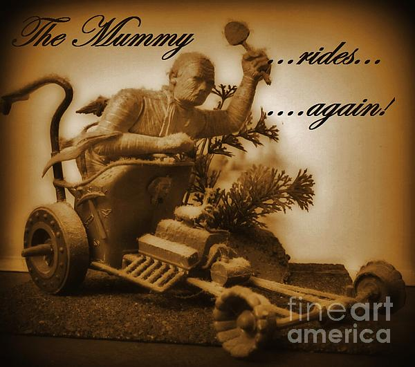 Nightmares Photograph - The Mummy Rides In Halifax by John Malone