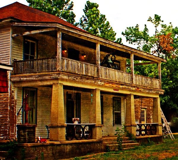 Old Building Photograph - The Old Boarding House by Marty Koch