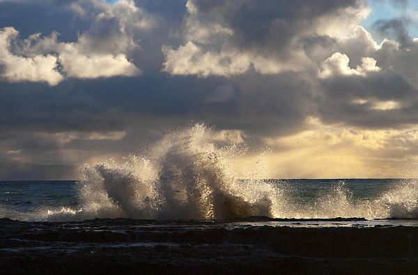 Pacific Ocean Photograph - The Pacific Calms Down by Joe Schofield