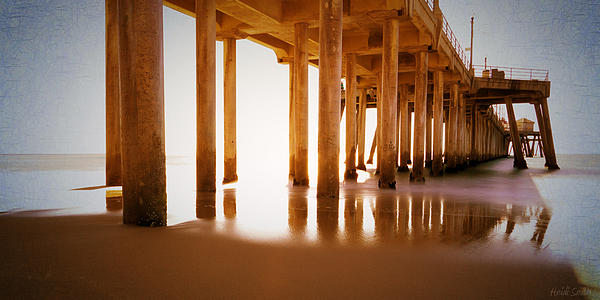 Beach Photograph - The Pier by Heidi Smith