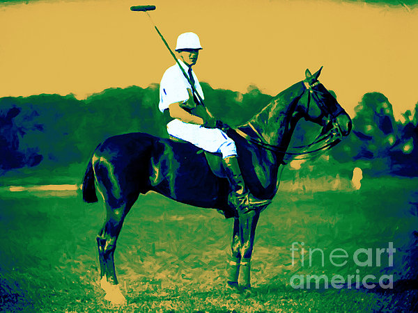 Sport Photograph - The Polo Player - 20130208 by Wingsdomain Art and Photography