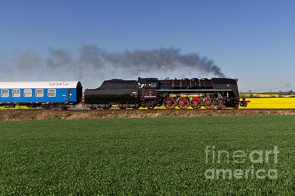 Czech Photograph - The Pride Of The Czech Locomotive Design by Christian Spiller