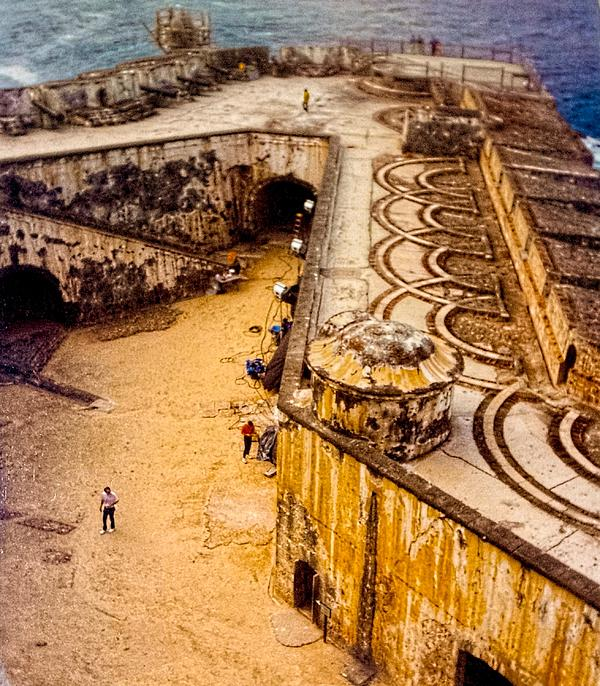 El Morro Photograph - The Promontory Of The Caribbean by Sandra Pena de Ortiz