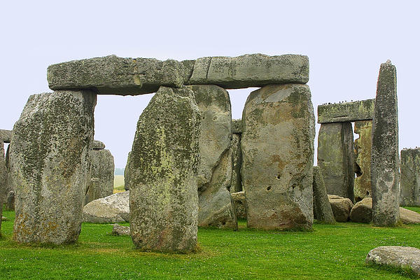 Travel Photograph - The Real Stonehenge by Linda Phelps