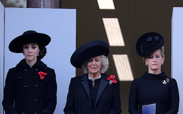 The Royal Family Lay Wreaths At The Cenotaph On Remembrance Sunday Photograph by Jack Taylor