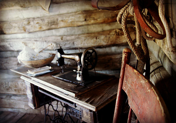 Wyoming Photograph - The Seamstress by Bill Keiran