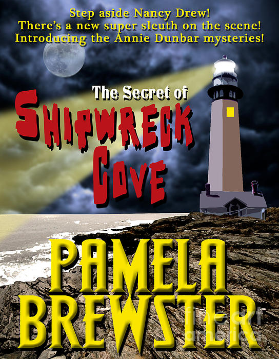 Book Jacket Design Photograph - The Secret Of Shipwreck Cove by Mike Nellums