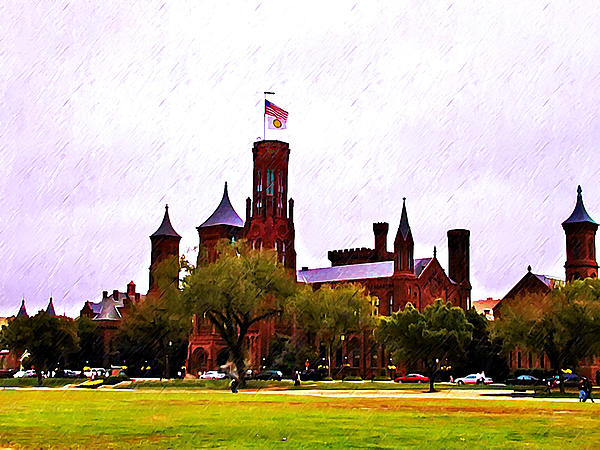 Washington Photograph - The Smithsonian by Bill Cannon