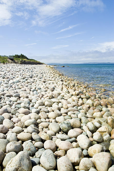 The Photograph - The Stones On Beach by Boon Mee