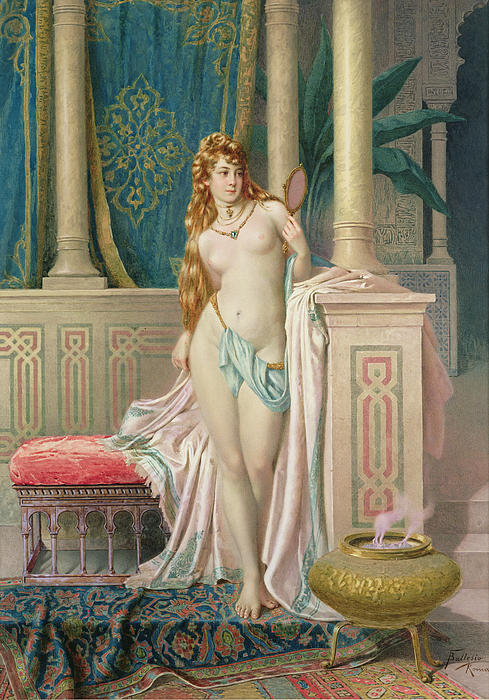Nude Painting - The Sultans Favorite by Frederico Ballesio