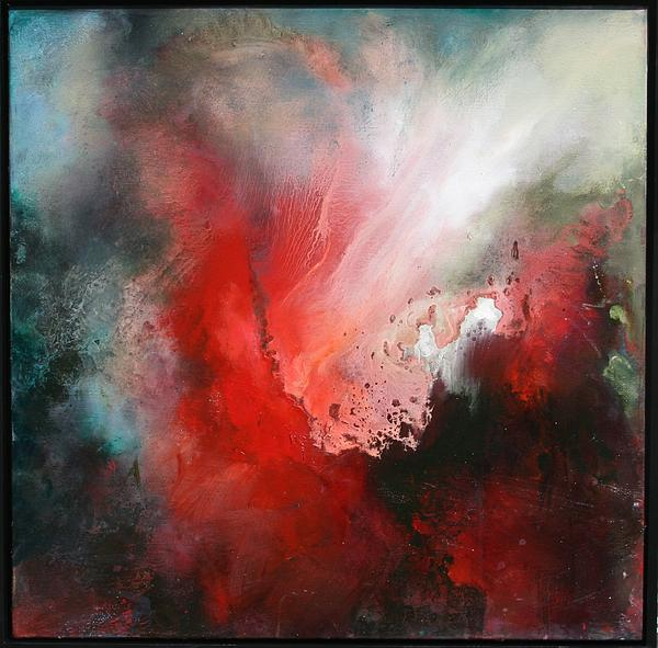 Turbulent Painting - The Swell by Lissa Bockrath