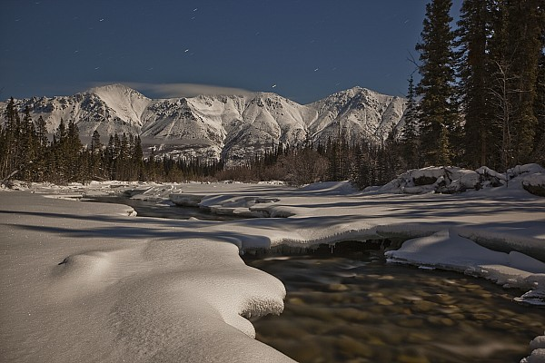 Covered Photograph - The Wheaton River Valley Lit By The by Robert Postma