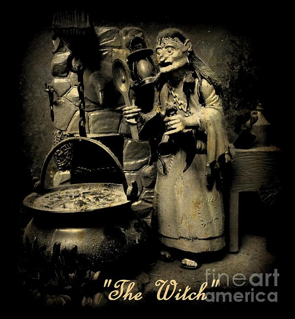 Nightmares Photograph - The Witch by John Malone