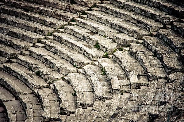 Ancient Photograph - Theatre At Epidaurus by Gabriela Insuratelu
