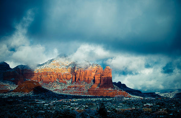 Sedona Photograph - Theres A Place by Roger Chenery