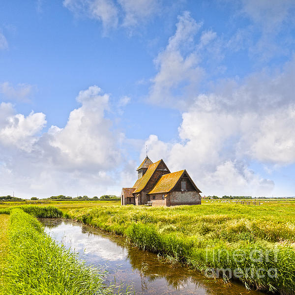 Architecture Photograph - Thomas A Becket Church Romney Marsh by Colin and Linda McKie
