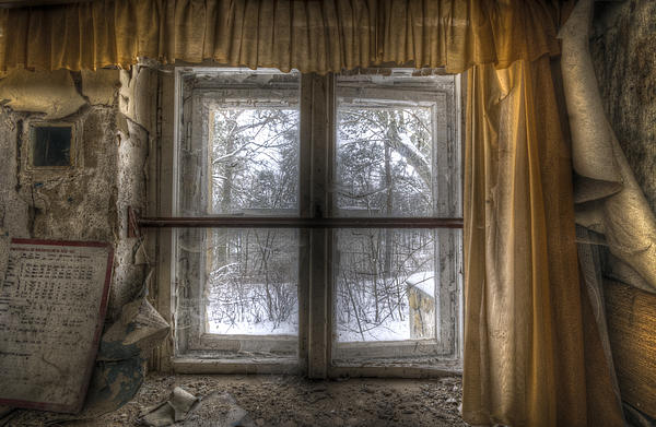 Old Digital Art - Through The Dirty Window by Nathan Wright