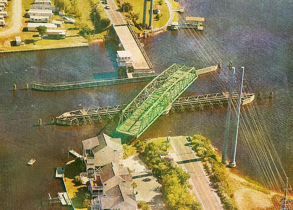 Topsail Photograph - Ti Swingin Swing Bridge by Betsy Knapp