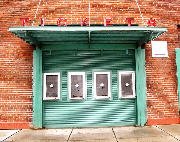 Red Socks Ticket Booth Photograph - Ticket Booth  by Michelle Wiltz