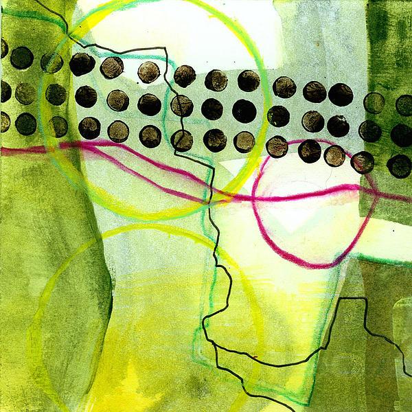 Jane Davies Painting - Tidal 14 by Jane Davies
