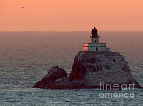 Tillamook Rock Lighthouse Photograph - Tillamook Rock Lighthouse by Chris Anderson