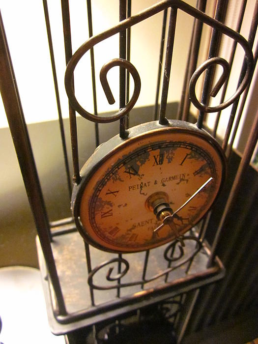 Artistic Clock Photograph - Time Feels So Vast by Guy Ricketts