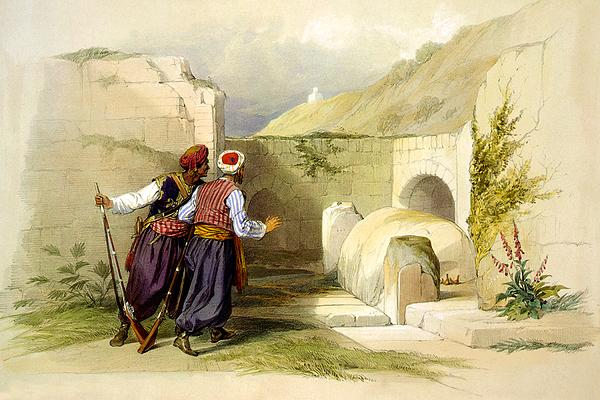 Tomb Of Joseph Photograph - Tomb Of Joseph At Shechem 1839 by Munir Alawi