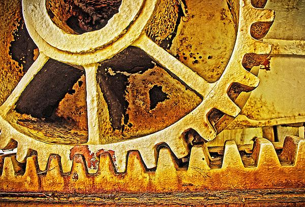 Machinery Photograph - Tooth Decay by Tony Crehan