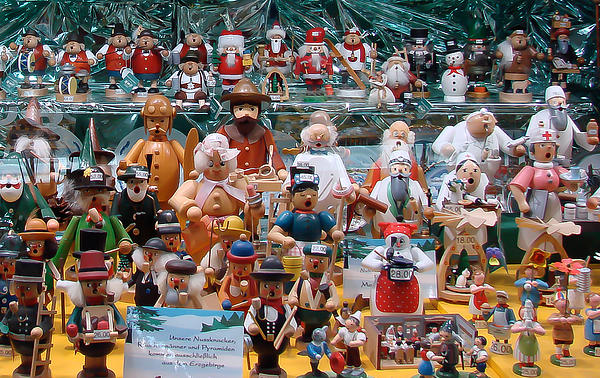 Baubles Photograph - Toys And Nutcrackers For Sale by Ronda Broatch