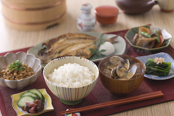 Traditional Japanese Breakfast Photograph by Mixa