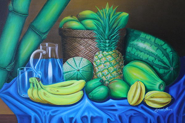 Tropical Fruits Painting by Gani Banacia