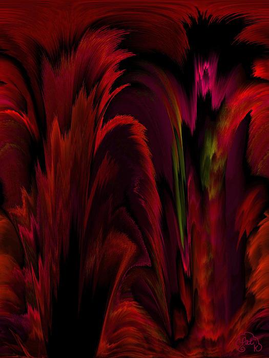 Digital Art Digital Art - Tropicana by Patricia Kay