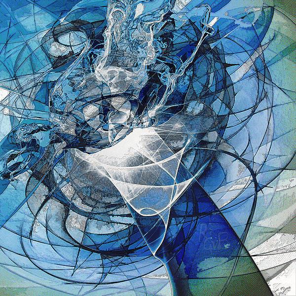 Turbulence Mixed Media - Turbulence by Reno Graf von Buckenberg