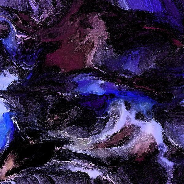 Turmoil Painting - Turmoil Of The Mind by Sherris Of Palm Springs