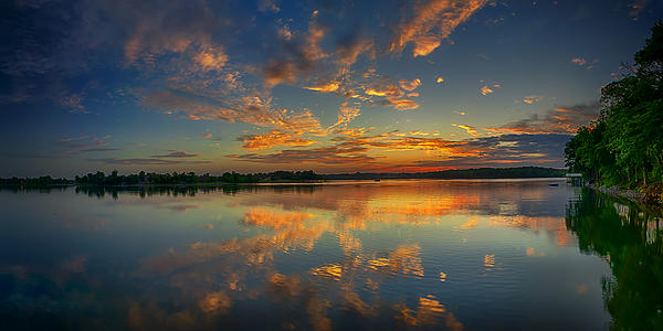 Turquoise Sunrise Photograph by Dan Holland