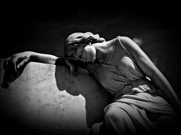 Cemetery Photograph - Twilight Eternal by Ramon Fernandez